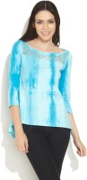 Avirate Casual 3/4 Sleeve Solid Women's Top
