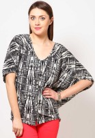 Tops and Tunics Casual Short Sleeve Printed Women's Top