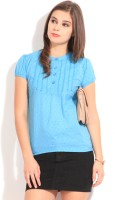 Style Quotient By Noi Casual Short Sleeve Solid Women's Top - TOPEF3M9BQB4VGNG
