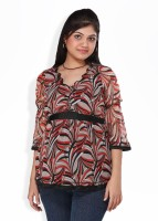 Morph Maternity Casual 3/4 Sleeve Printed Women's Top