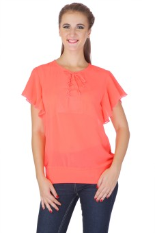 My Addiction Casual Short Sleeve Solid Women's Top