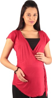 Morph Maternity Casual Short Sleeve Solid Women's Top - TOPE7FHRAGWWTFR4