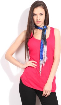 Flippd Casual Sleeveless Solid Women Top