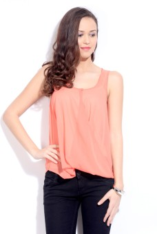 e1b7d8edd3 Only Casual Sleeveless Solid Women Top