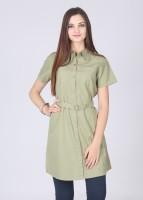 Cherokee Casual Short Sleeve Solid Women's Top