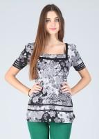 Avirate Casual Short Sleeve Printed Women's Top
