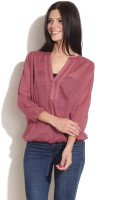 Remanika Casual 3/4 Sleeve Solid Women's Top