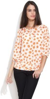 Gipsy Casual 3/4 Sleeve Floral Print Women's Top