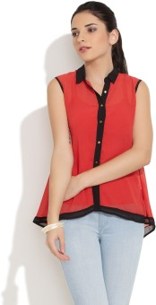 Jealous 21 Casual Sleeveless Solid Women's Top