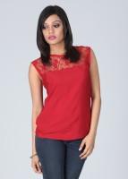 Meee Casual Sleeveless Solid Women's Top