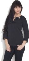 Chemistry Casual 3/4 Sleeve Solid Women's Top