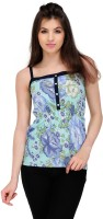 Yepme Casual Sleeveless Floral Print Women's Top