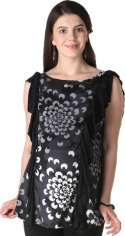 Morph Maternity Casual Sleeveless Printed Women's Top