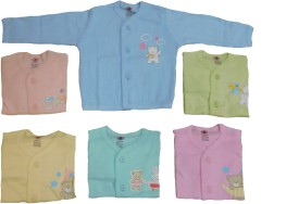 Baby Master Casual Full Sleeve Solid Baby Girl's Blue, Pink, Green, Light Blue, Yellow Top