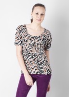 Van Heusen Casual Short Sleeve Printed Women's Top