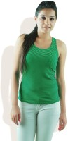 DONE BY NONE Casual Sleeveless Striped Women's Top