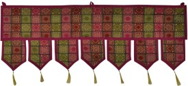 Lal Haveli Ethnic Attractive Decoration Silk Toran Toran