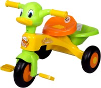 Ez' Playmates Kids Duck Cycle Yellow/Green Tricycle