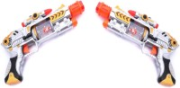 New Pinch Lazer Sound Musical Gun For Kids (pack Of 2 ) (Multicolor)