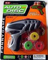ToyTree Auto Disc Gun Toy (Multi Color) (Multicolor)