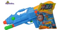 Toyzstation Mega Pressure Water Gun Pichkari With Free Balloons Assorted (Multicolor)