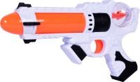 Planet Of Toys SPACE WARS SERIES: PLANET OF TOYS SOUND GUN 28CMS ORANGE (LED LIGHT AND SOUND) (Orange)
