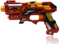 Planet Of Toys Super Blaster (Range Upto 10M) (Red, Yellow)