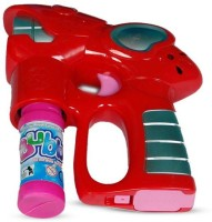 B.M.R. Trading Co. Angry Bird Air Bubble Gun With Light (Red)