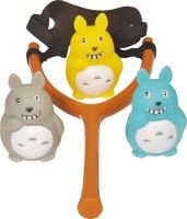 Wishkey TOTORO SLING SHOT CUM BATH TOY (Multicolor)