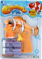 Jumbo Clownfish Bubble Gun (Orange)
