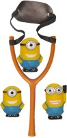 Turban Toys MINION SLING SHOT CUM BATH TY (Multicolor)