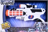 Planet Of Toys SPACE WARS SERIES: PLANET OF TOYS SOUND GUN 28CMS (LED LIGHT AND SOUND) (White)
