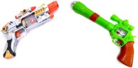 New Pinch Combo Of Musical Lazer Sound & Projector Strike Gun For Kids (Multicolor)