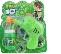 Asquare Mart Ben 10 Bubble Toy Gun (Green)