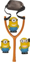 Wishkey MINION SLING SHOT CUM BATH TOY (Multicolor)