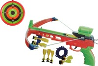 Vaibhav Crossbow Real Shooting Set Arrows Gun Sport Game (Multicolor)