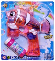 Zest4toyz Bubble Gun Fish Coolest Toy For Kids Pull The Trigger For Bubbles And Make Fun (Multicolor)