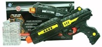 Turban Toys Bullet Gun With Dual Usage (Multicolor)