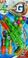 Shop & Shoppee Shooting Air Gun With 6 Balls & 3 Bottles