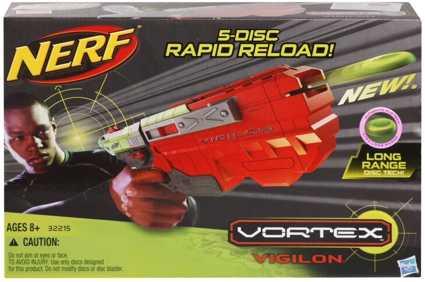 Hasbro 5-Disc Rapid Reload Disc Blaster