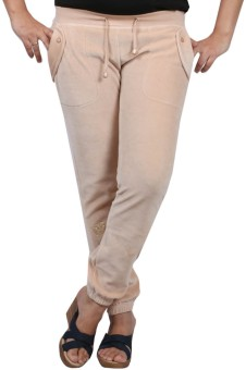 Pinellii Breeze Pant T/Almond Solid Women's Track Pants