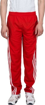 Xplore Red Solid Solid Men's Track Pants