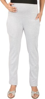 MomToBe Solid Women's Grey Track Pants