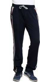 Riverstone Basic Solid Men's Blue Track Pants