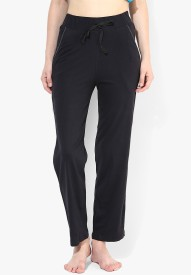 Red Rose Solid Women's Track Pants