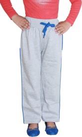 Shaun Sweatshirt Solid Girl's Grey Track Pants
