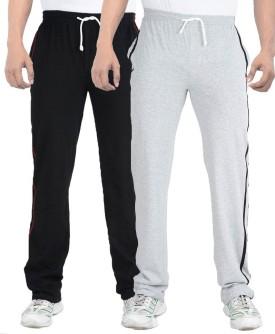 TeesTadka Solid Men's Multicolor Track Pants