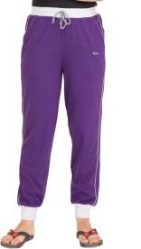 Colors & Blends Solid Women's Track Pants