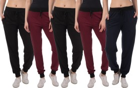 Kinma Self Design Women's Multicolor Track Pants - TKPEG58TNQHUUCTG
