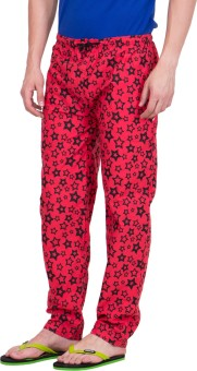 KeepSake Printed Men's Red, Black Track Pants